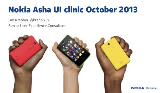 Nokia Asha UI Clinic: October 2013 — Kids Choice and Photogram