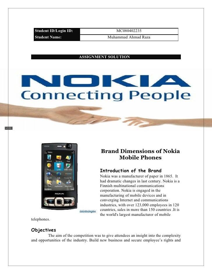Nokia brand manegement