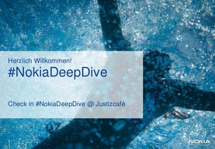 Nokia Deep Dive - Nokia, Symbian and the Developer Ecosystem