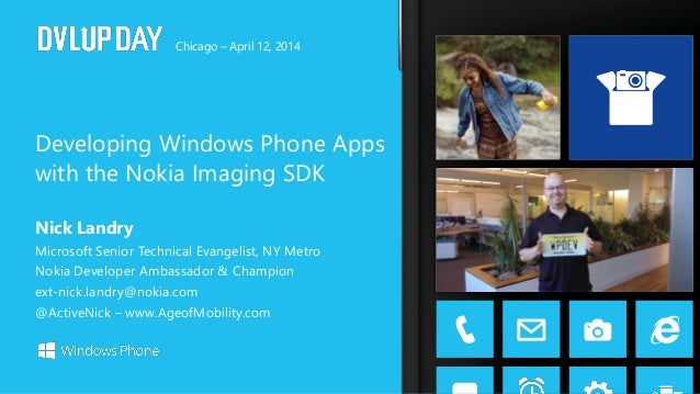 Developing Windows Phone Apps with the Nokia Imaging SDK