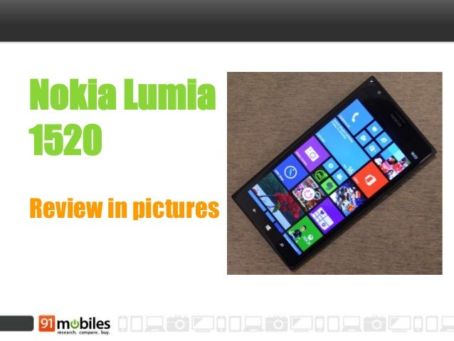 Nokia Lumia 1520 Review in pictures