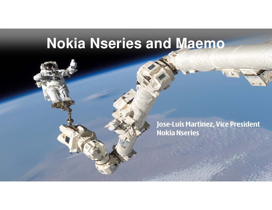 Nokia Nseries And Maemo 6