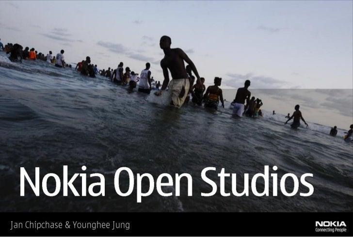 Nokia Open Studios
