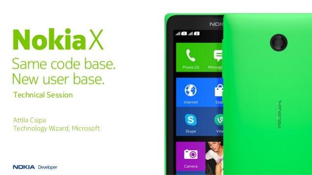 Nokia X Technical session - Ankara Android Developer Days