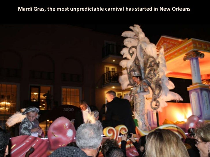 Mardi Gras, the most unpredictable carnival has started in New Orleans<br />