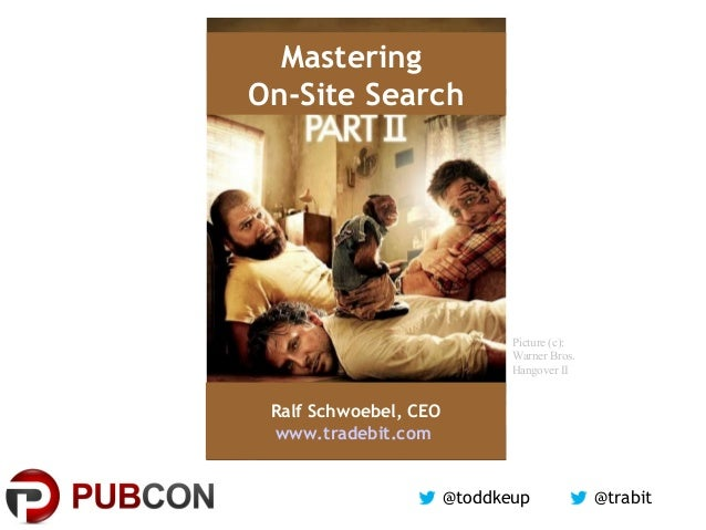 Mastering On-Site Search / Custom Site Search