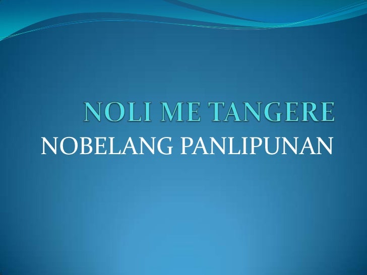 "comparison of noli me tangere and Peta's latest offering ""noli at fili dekada dos mil"" is a modern-retelling of jose rizal's two novels act 1 is devoted to ""noli me tangere,"" followed by ""el filibusterismo"" in act 2 after the successful tiongson, himself, admitted that he found adapting ""fili"" more challenging, compared to noli ""sa loob."