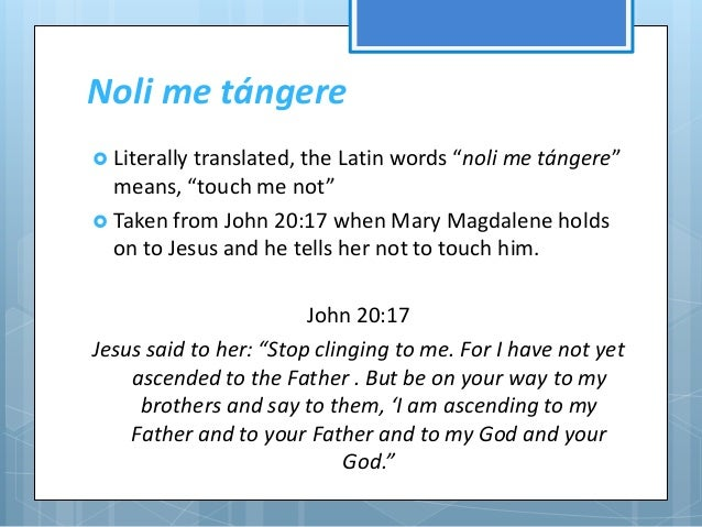 cover of noli me tangere Noli me tangere cover symbolism noli me tangere introduction noli me tangere, a latin phrase used by jose rizal as a title for his first novel, was actually the words used by jesus christ to mary magdalene when she saw him resurrected from the dead.