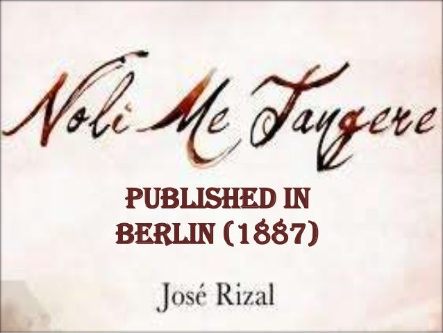"Symbols Used in ""Noli Me Tangere"" by José Rizal Essay Sample"