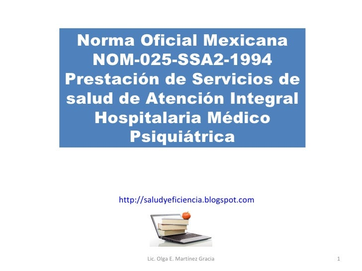 Nom 025 -SSA2 -1994