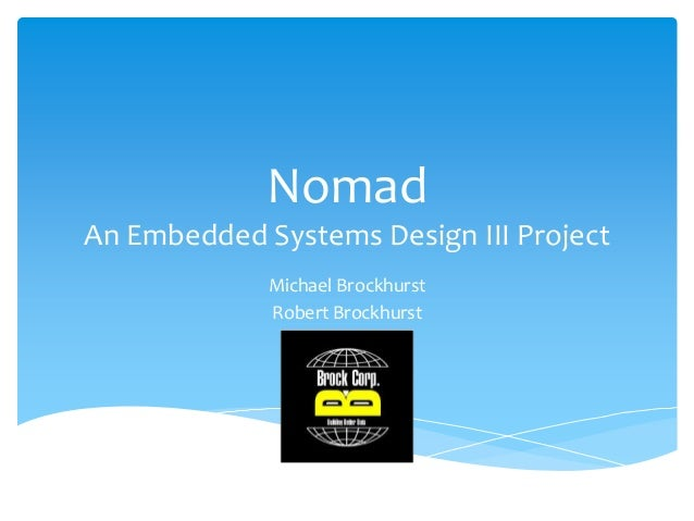 Nomad presentation