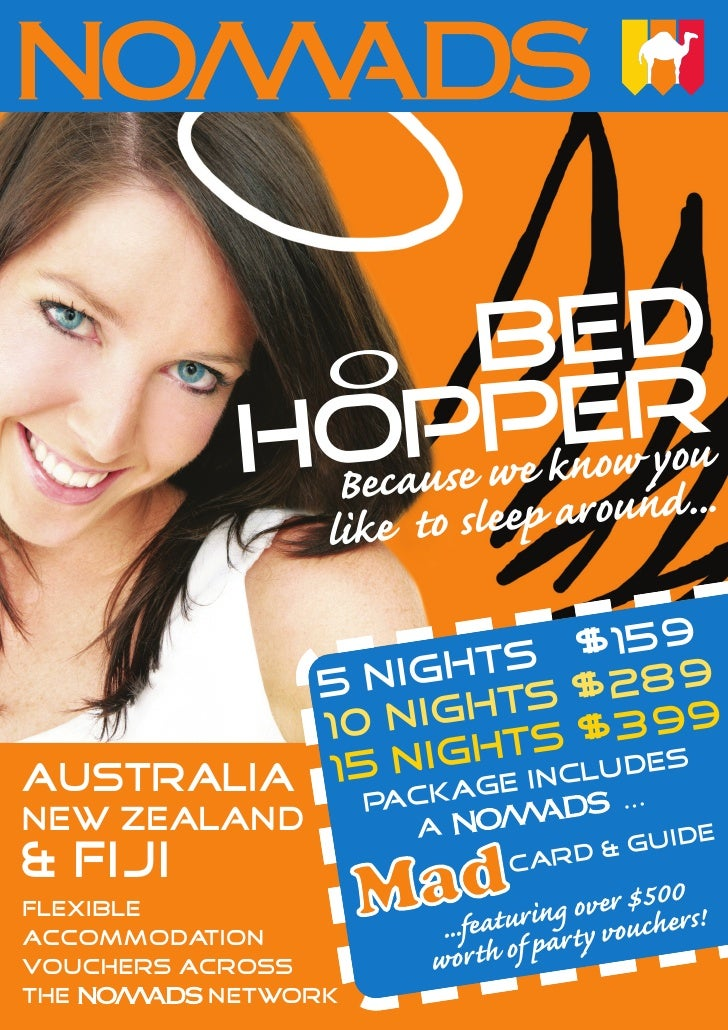 Nomads Bed Hopper Flyer
