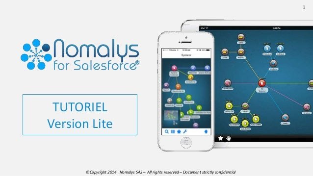 ©Copyright 2014 Nomalys SAS – All rights reserved – Document strictly confidential 1 TUTORIEL Version Lite