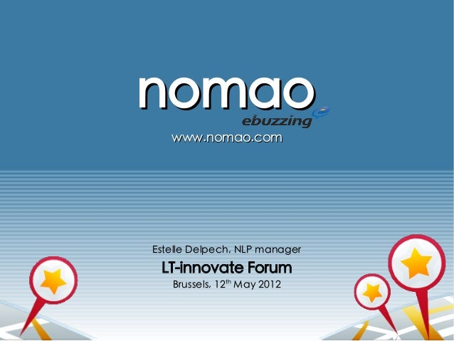 Nomao: local search and recommendation engine