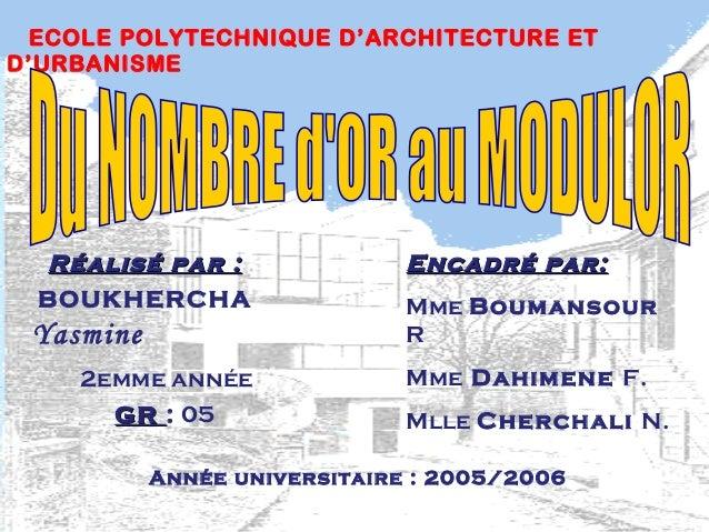 Réalisé par :Réalisé par : BOUKHERCHA Yasmine 2emme année GRGR : 05 Encadré par:Encadré par: Mme Boumansour R Mme Dahimene...