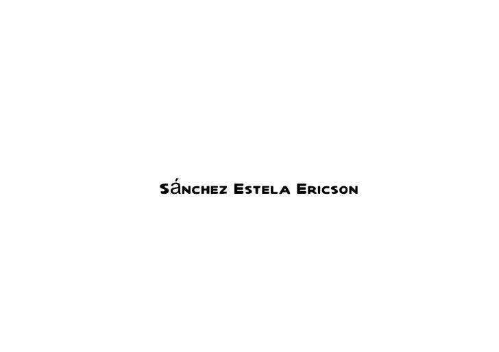 Sánchez Estela Ericson