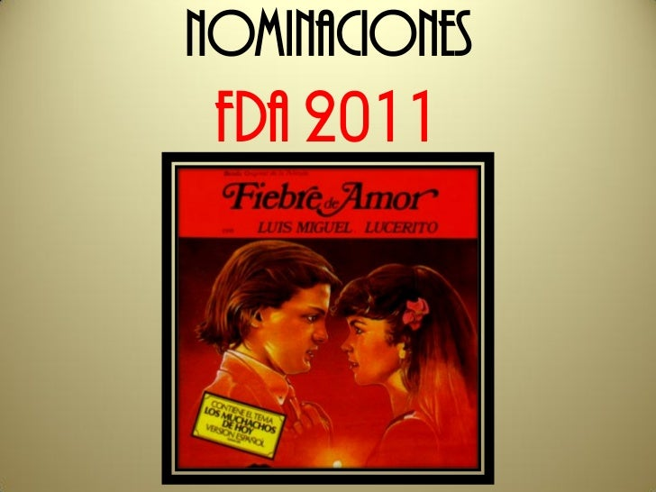 Nominaciones FDA