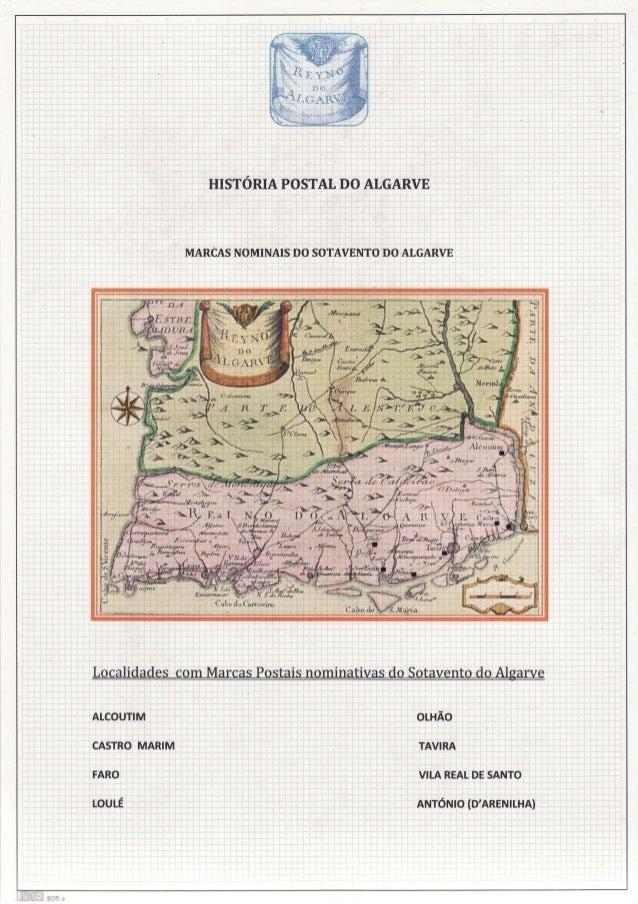 DO HISTÓRIAPOSTAT ATGARVE  MARCAS DO NOMINAISDO SOTAVENTO ATGARVE  ALCOUTIM  OLHÃO  CASTRO MARIM  úvrRR  FARO  VILAREAT SA...