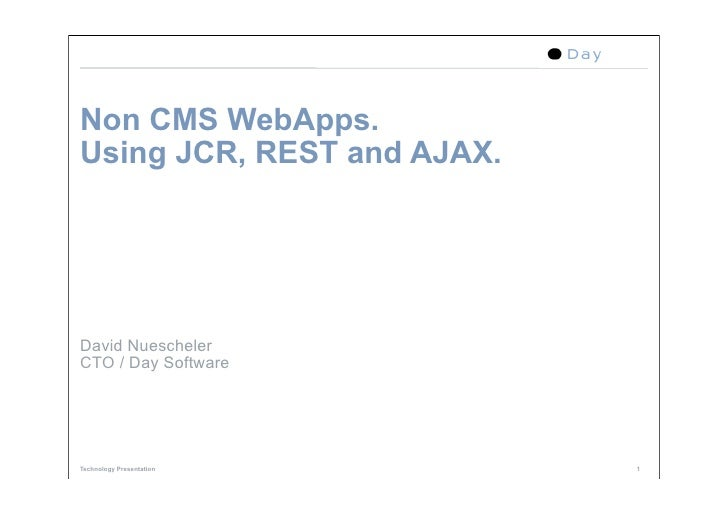 Non Cms For Web Apps