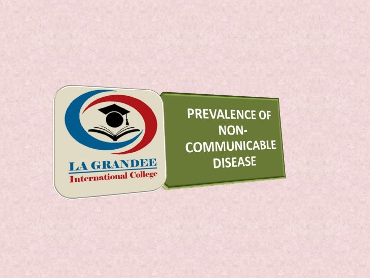 Non communicable diseases (final)