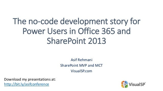 No code developer options in office 365 and sharepoint 2013 - Is sharepoint included in office 365 ...
