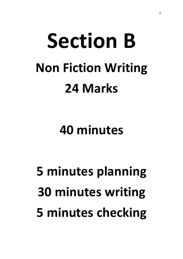 Non-Fiction Writing Revision Guide