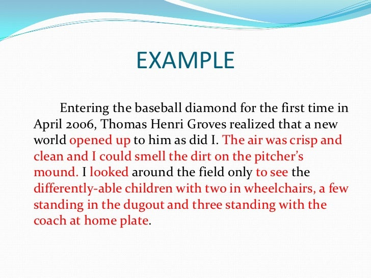narrative essay baseball Take me out to the writing game these free creative writing prompts about baseball can help you use america's pastime to give you new inspiration.