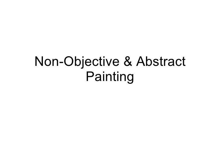Non-Objective & Abstract Painting