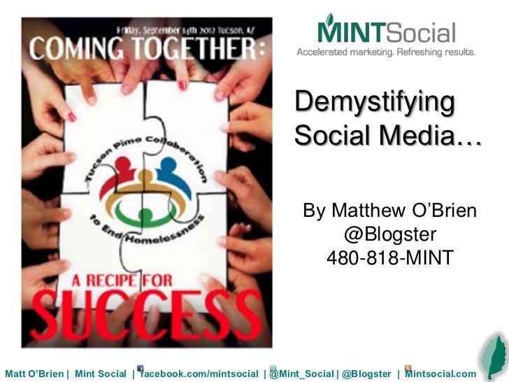 Non profit Advantage in Social Media Marketing