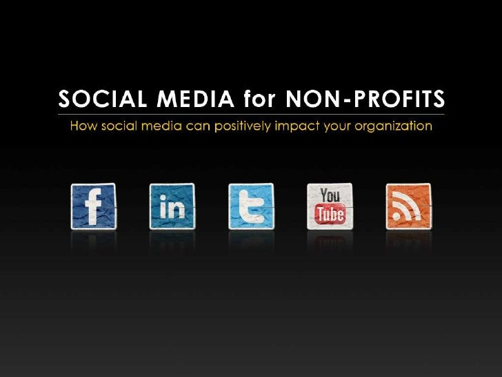 Social Media for Non-Profits