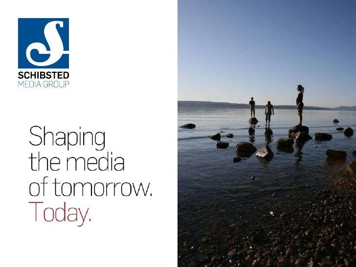 """Something old, something new""    Innovation at Schibsted   Sverre Munck, EVP Schibsted Media Group"