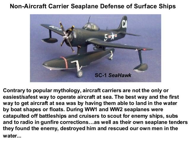 Non-Aircraft Carrier Seaplane Defense of Surface Ships v5.0