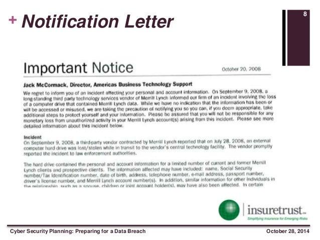 sample hipaa breach notification letter essay