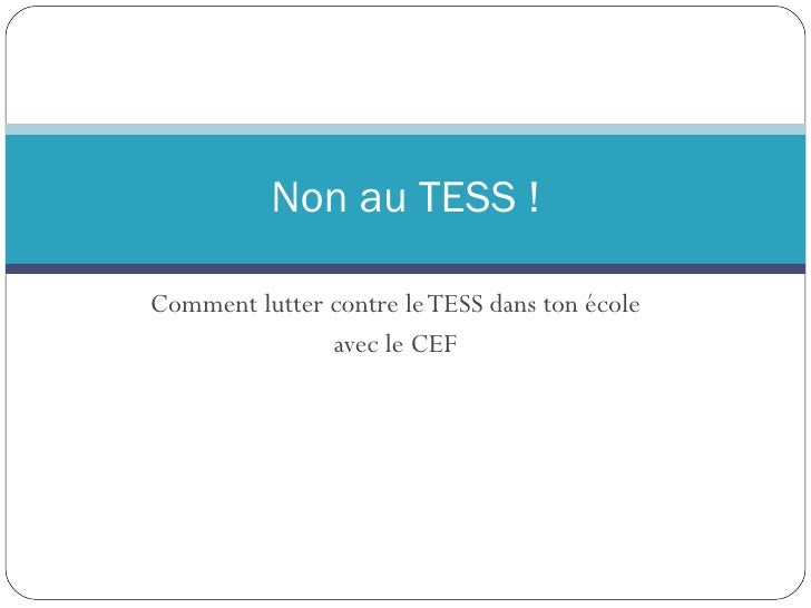 Non Au Tess !