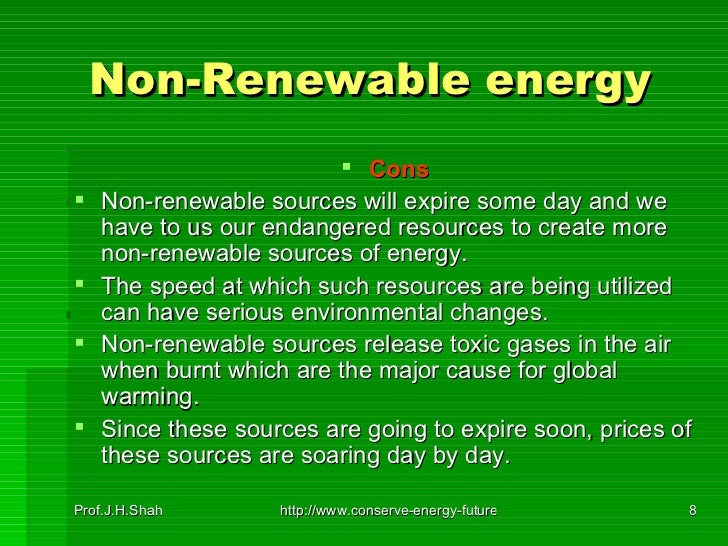 What are the negatives of renewable energy?