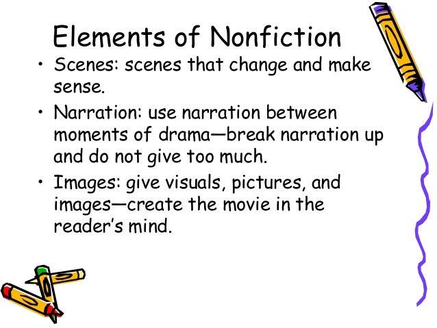 elements of nonfiction essay