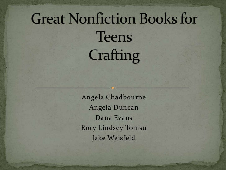 LIBR 264: Materials for Tweens Group Nonfiction Project