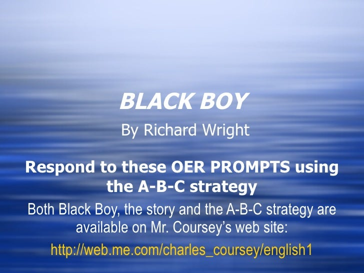 Nonfiction OERs-black_boy