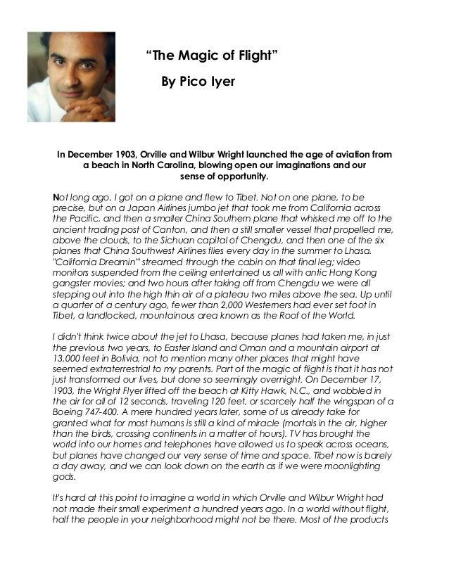 Pico iyer essays