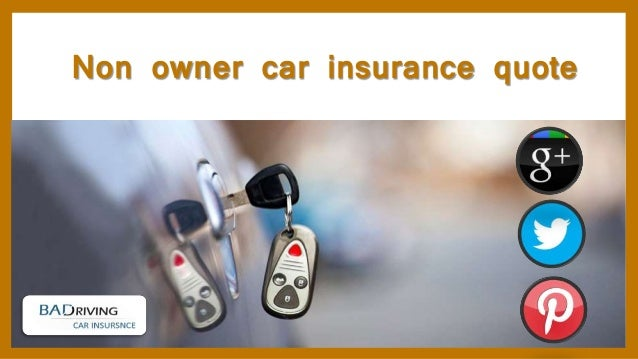 Auto Owners Insurance Non Owners Auto Insurance Quote