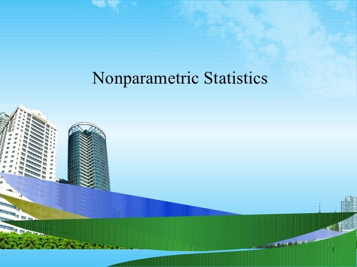 Nonparametric statistics ppt @ bec doms
