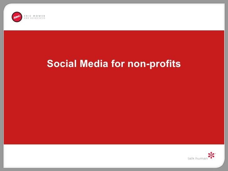 Non Profit Presentation at Sonoma Grill