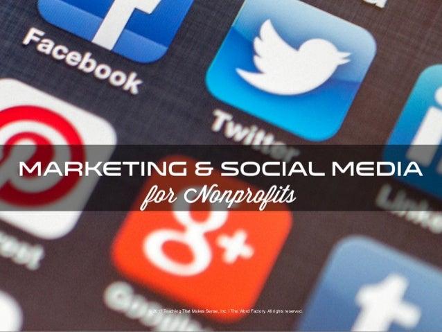 A Social Media Primer for Non-Profits