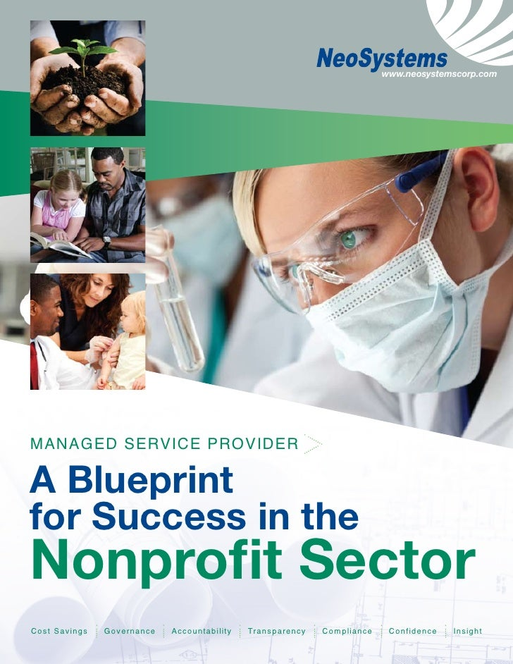 www.neosystemscorp.com     MAnAGed ServICe ProvIder  A Blueprint for Success in the Nonprofit Sector Cost Savings   Govern...