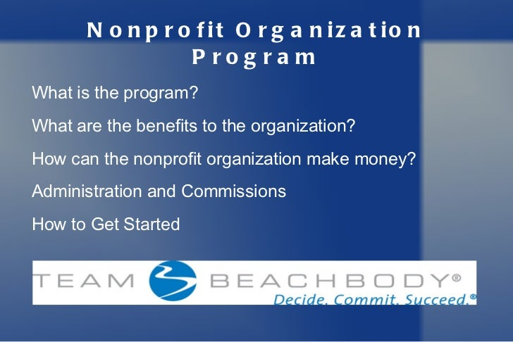 Non-profit Fitness & Health Inititative