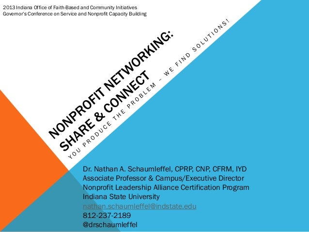 Nonprofit Networking - Share & Connect
