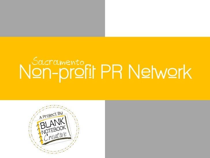 Non-profit PR Network