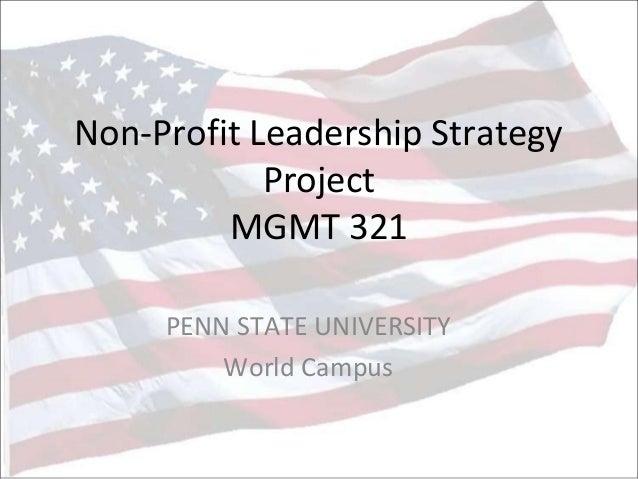 Non profit project