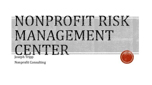 Joseph Tripp  Nonprofit Consulting