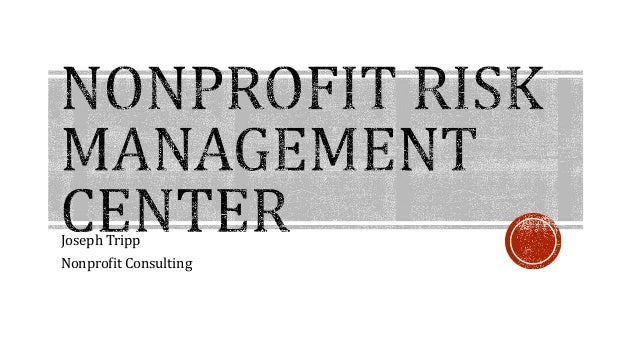 Nonprofit Risk Management Center